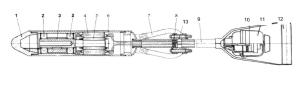 Ручной глубинный вибратор ИВ-103 сборочный чертеж