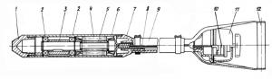 Ручной глубинный вибратор чертеж в разрезе